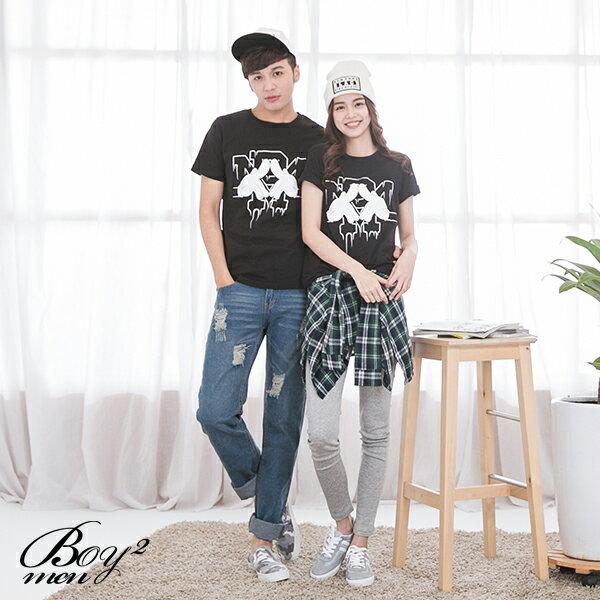 ☆BOY-2☆ 【IT8005】情侶韓版潮流米老鼠手套短袖T恤 2