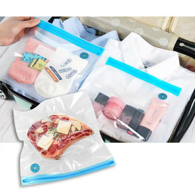 摩肯Dr.Save 真空保鮮袋組(S) (10入 / 組,不含主機) 食品收納 真空配件 0
