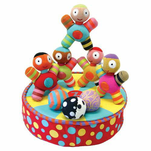 ★衛立兒生活館★加拿大 KUSHIES ZOLO 體操先生嬰兒益智玩具組