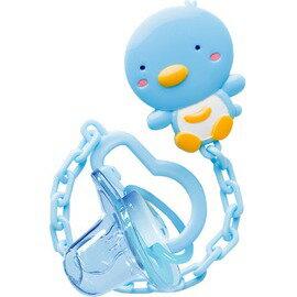 PUKU藍色企鵝 - PUKU BABY奶嘴鏈+初生安撫奶嘴 0