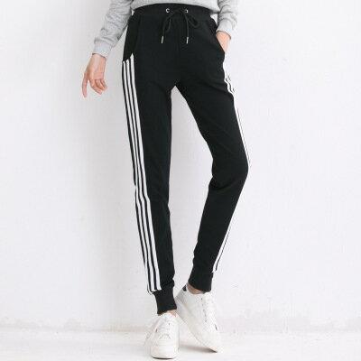 薄款三條槓運動褲