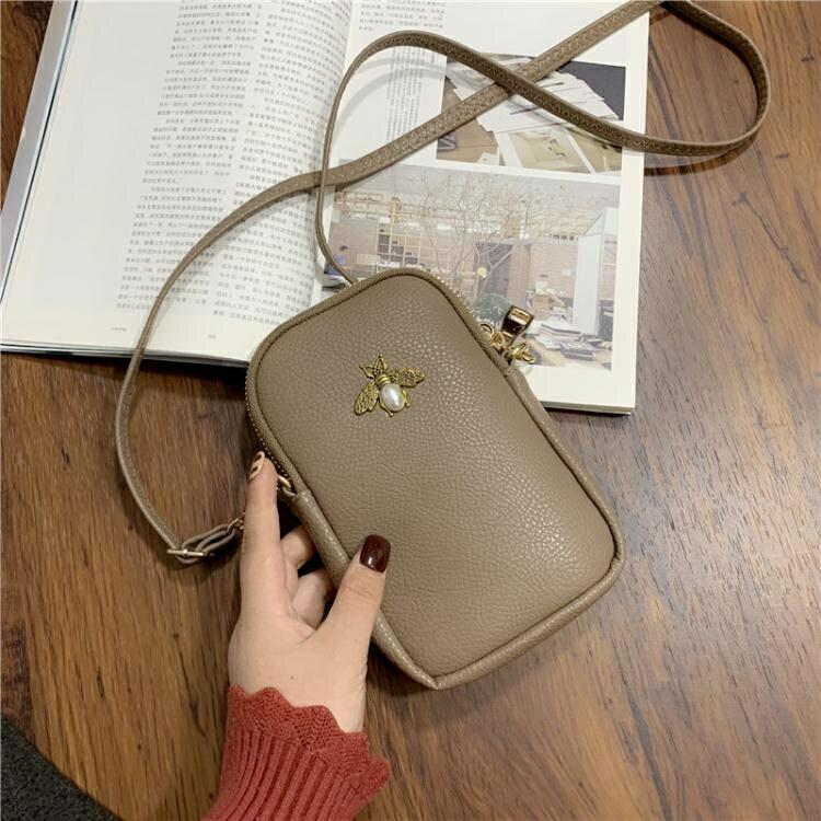 手機包 質感小包包女2021新款潮日韓版洋氣百搭側背斜背包歐美時尚手機包 7號Fashion家居館