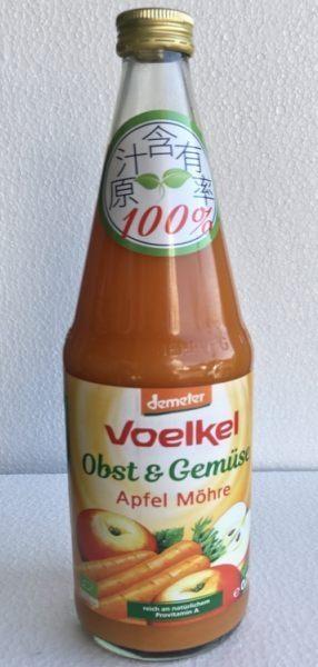 買6送1 Voelke維可 有機蘋果胡蘿蔔汁 700ml/瓶 活動至5/24
