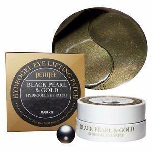 《香水樂園》韓國 璞帝妃 Petitfee 黑珍珠 黃金眼膜 60片 (黑珍珠&金箔眼膜)
