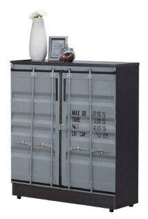 尚品傢俱:【尚品傢俱】JF-295-5尚恩2.7x3尺貨櫃鞋櫃