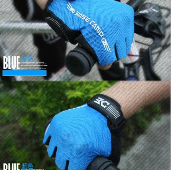 貝斯卡騎行手套萊卡面料舒適自行車户外騎行運動裝備