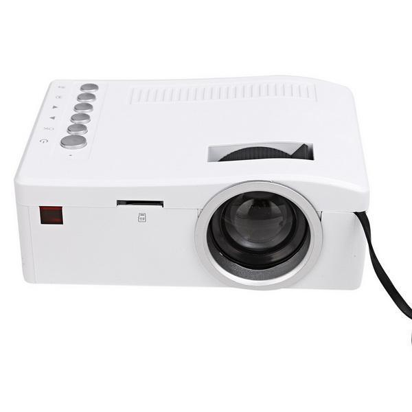 Micro Mini LED LCD Projector Portable Home Cinema Theater Multimedia 2