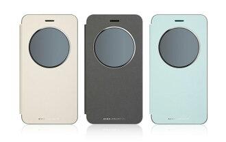 原廠皮套 ASUS ZenFone3 ZE552KL 5.5吋透視皮套/手機殼/智能皮套/側翻【馬尼行動通訊】