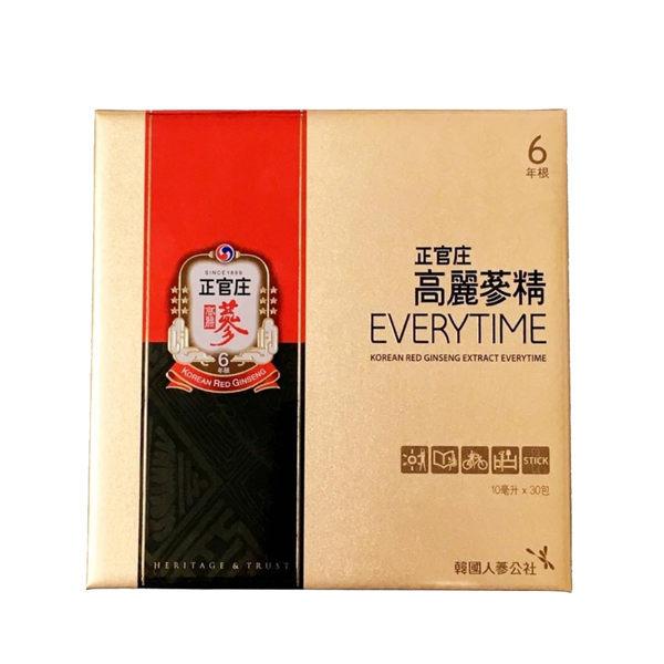 正官庄 高麗蔘精EVERYTIME 30包/盒