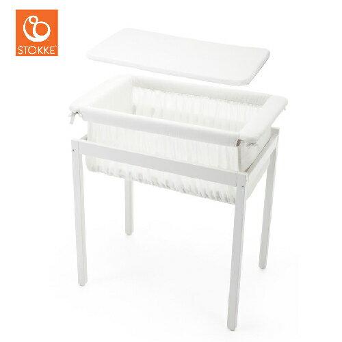 挪威【Stokke】Home 嬰兒搖床(純白 / 深灰) 2