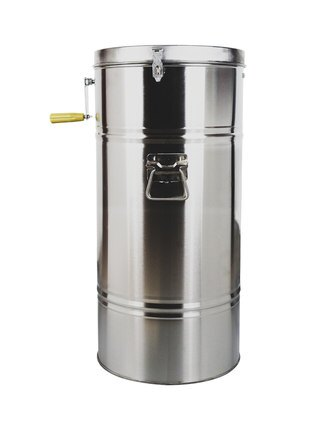 搖蜜機 加厚不銹鋼小型家用打糖甩蜂蜜機取蜜桶分離機養蜂工具全套『CM37601』