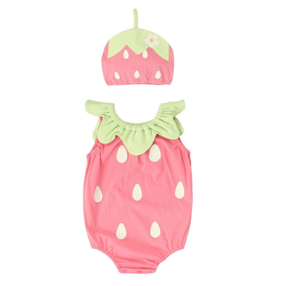 Augelute Baby 水果造型連身衣套裝 附帽子 51015 90066(好窩生活節) 9