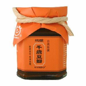 鏡感樂活市集 甘寶 桃米泉 有機千歲豆瓣 180g/ 罐