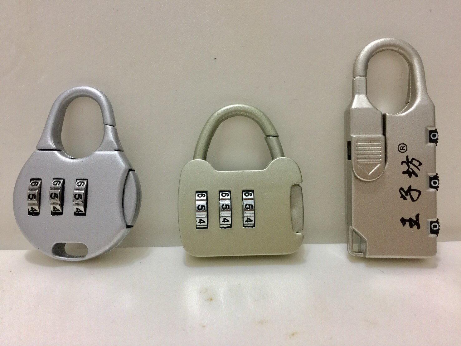 【悅.生活】GoTrip微旅行_行李箱3位數字密碼鎖-3款隨機出貨