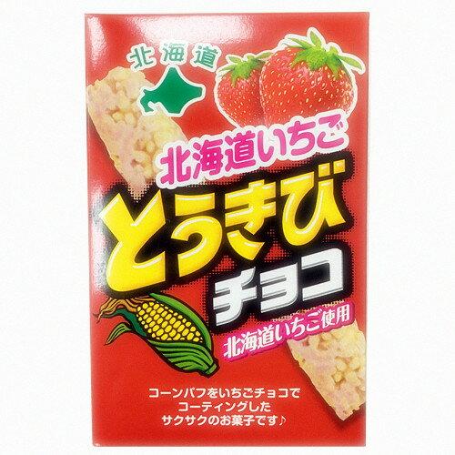 北海道草莓巧克力玉米脆果 38.5g 札幌?????? ???????????