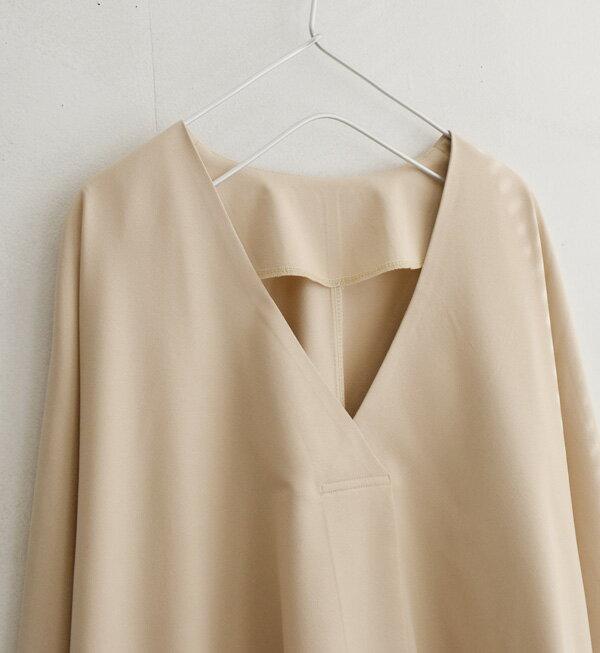 日本e-zakka / 簡約素色寬版V領上衣 / 32190-1900051 / 日本必買 代購 / 日本樂天直送(2900) 6