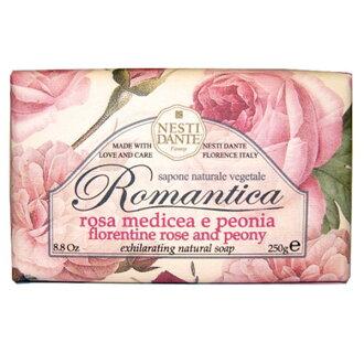 Nesti Dante 義大利手工皂-愛浪漫生活風系列-佛羅倫斯玫瑰&牡丹250g