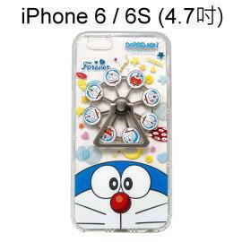 哆啦A夢摩天輪指環支架空壓殼[大臉]iPhone66S(4.7吋)小叮噹【正版授權】