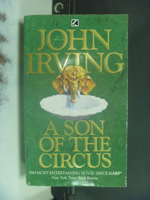 【書寶二手書T8/原文小說_NRC】John Irving Son Of The Circus_ John Irving