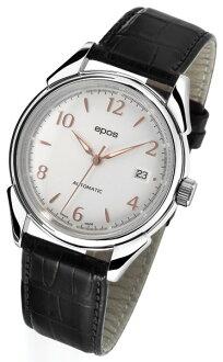 epos 愛寶時 3372.132.20.38.25FB 活力系列復古紳士機械腕錶/白面38.5mm