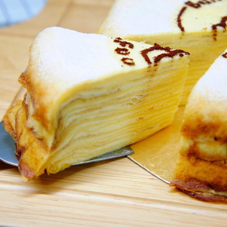 【蕉研食嚥室】法式香草千層蛋糕6吋甜點蛋糕