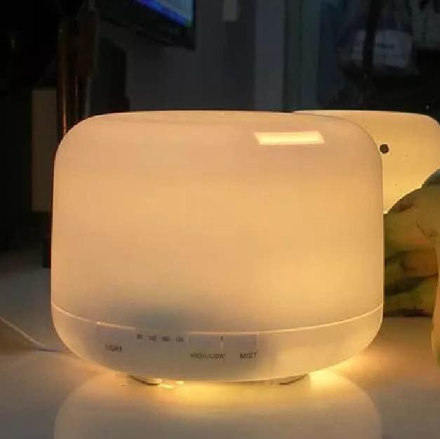 日系水氧機500ml 空氣加濕器 精油燈 小夜燈 薰香機 香薰機 靜音噴霧機  遇見春天『718狂歡節』