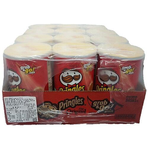 美國Pringles洋芋片12*2.3oz【愛買】