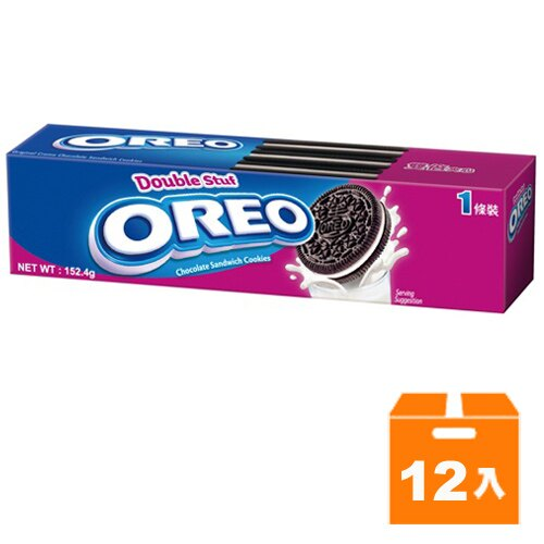 OREO 奧利奧 雙倍夾心餅乾 152.4g (12入)/箱
