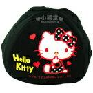 〔小禮堂〕Hello Kitty 安全帽內襯《黑》防塵衛生避免異味