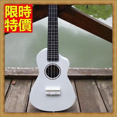 烏克麗麗  ukulele-缺角夏威夷吉他21吋椴木合板四弦琴弦樂器4色69x29【獨家進口】【米蘭精品】
