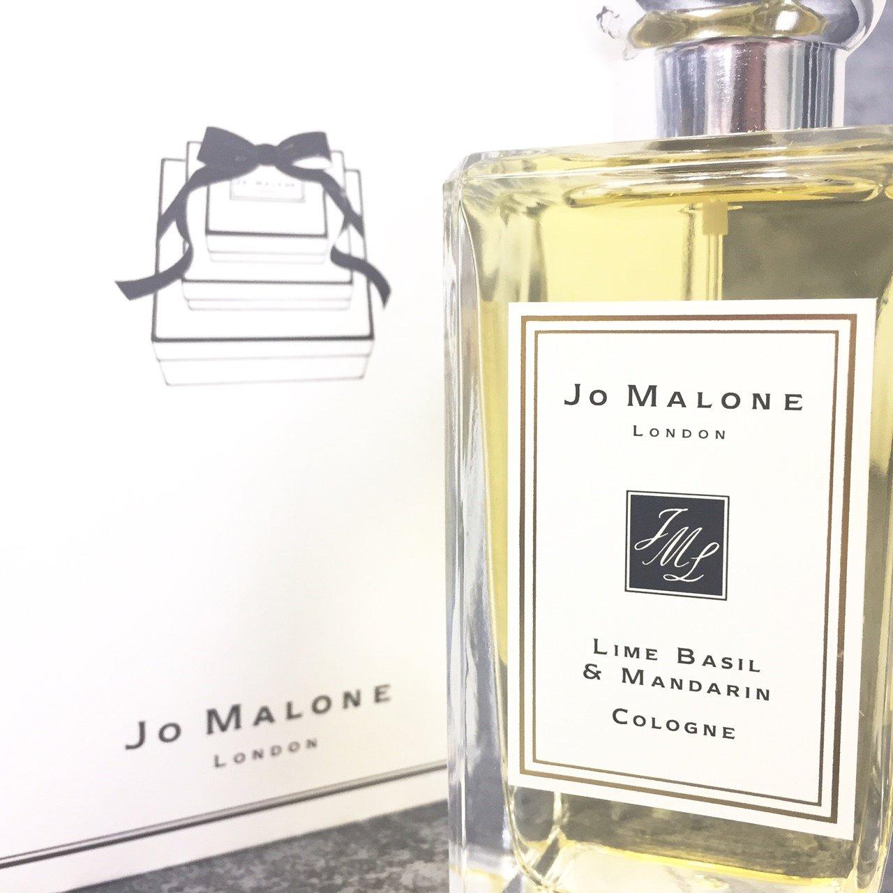 JO MALONE Lime Basil Mandarin 青檸羅勒 & 柑橘香水 100ML◐香水綁馬尾◐
