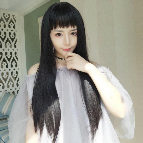 氣質美人擬真韓系假髮長直髮【MC440】☆雙兒網☆