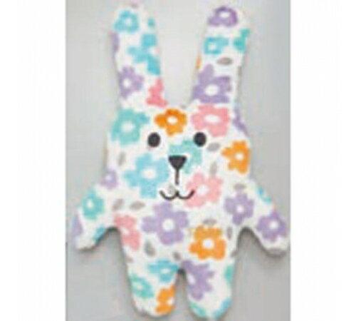 【預購】日本CRAFTHOLIC 宇宙人 - 愛你傳情熊寶貝枕 - 繽紛花花兔 - 限時優惠好康折扣