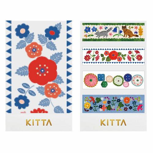 【日本KITTA】隨身攜帶和紙膠帶KIT039我的興趣本