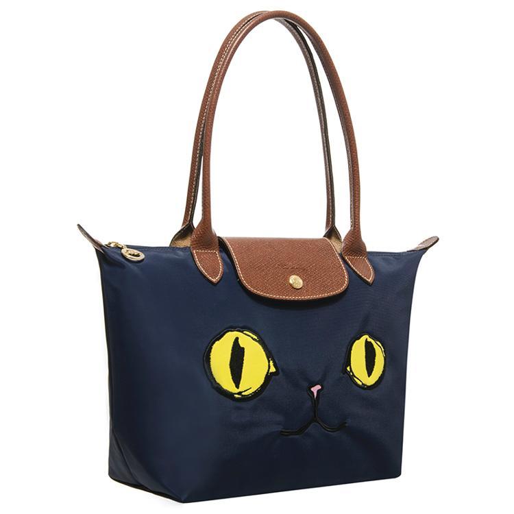 LONGCHAMP 2605 576 556新款包包貓咪款長柄小號折疊包水餃包 3