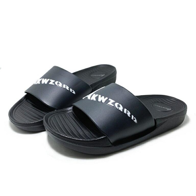 【滿額領券↘折$120】情侶款簡約防水拖鞋 [34016] 黑 MIT台灣製造【巷子屋】