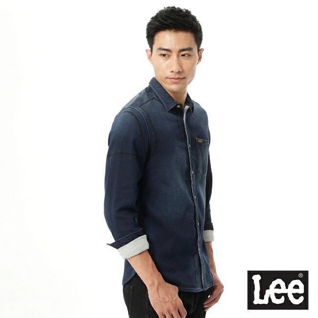 Lee 101+ 牛仔長袖襯衫-男款 1