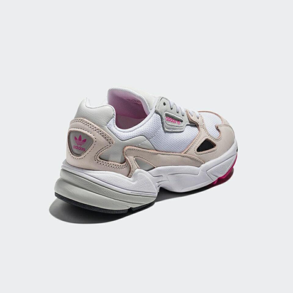 【ADIDAS】FALCON W 白粉 經典鞋 復古鞋 休閒鞋  慢跑鞋 女 訂價3690 DB2763 (Palace store) 3