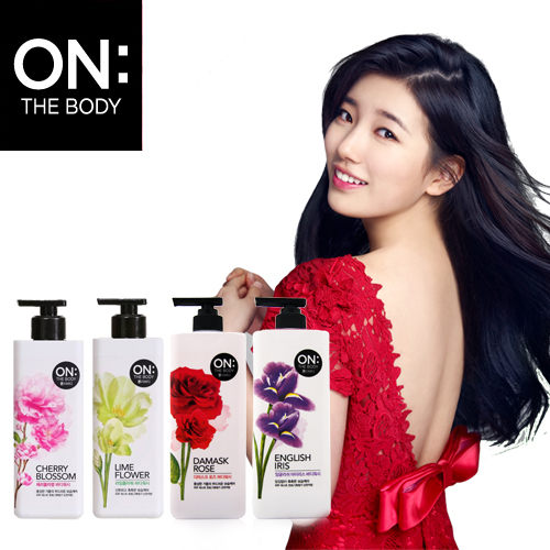 【ON THE BODY】香水沐浴乳900ML-花香系列