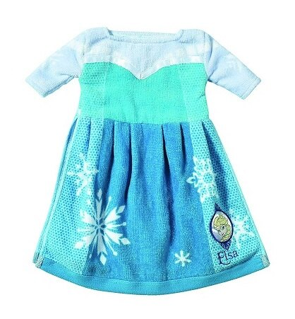【百倉日本舖】日本進口Disney冰雪奇緣公主造型擦手巾/純棉擦手巾