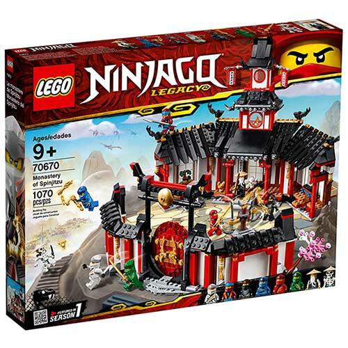 樂高LEGO 70670  NINJAGO 旋風忍者系列 -旋風忍術修道院 - 限時優惠好康折扣