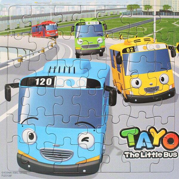 TAYO 小巴士拼圖 42片拼圖 PUZ0108A-F/一個入{促80} 幼兒卡通拼圖 士耘正版授權 MIT製