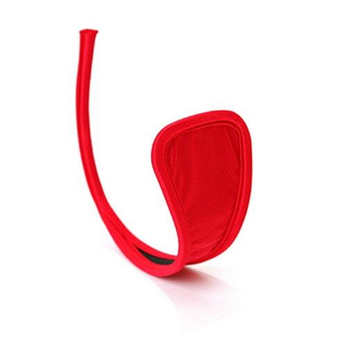 【伊莉婷】超夯 C-String 夏娃的最後一片葉子 C字褲 紅 IMG-48 - 限時優惠好康折扣
