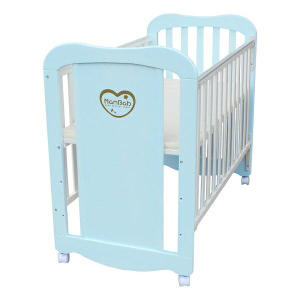 Mam Bab夢貝比 - 彩虹貝比嬰兒床 台規中床 (粉藍/粉紅/純白/原木/個性黃) 5