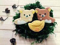 懶懶熊餅乾與甜點推薦到【GJ 私藏點心】    祝福尼~~拉拉熊   財源滾滾來【3片入】 手繪糖霜餅乾禮盒就在GJ私藏點心推薦懶懶熊餅乾與甜點