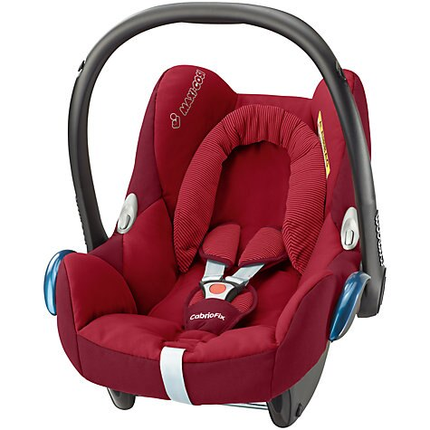 【特價$6300】荷蘭【Maxi-Cosi 】CabrioFix 新生兒提籃汽座 (汽車安全座椅) - 深紅