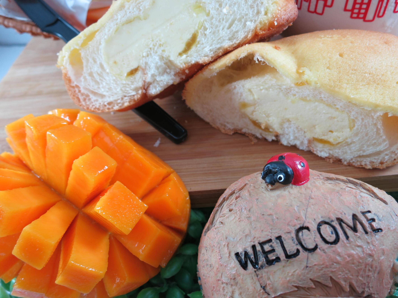 【Bliss Castle】首創灌飽包#爆漿麵包#芒果(四入一盒)#下午茶#夏日野餐趣#多種吃法#