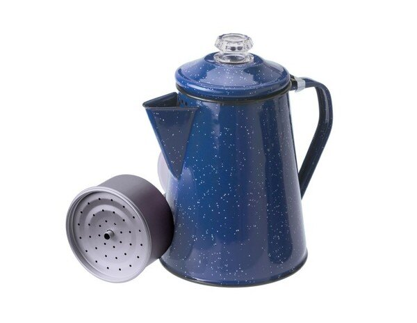 ├登山樂┤美國GSIPercolator8Cup砝瑯咖啡壺8杯份-藍#15154