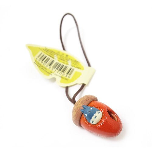 【真愛日本】8011600011 綿繩橡樹果小吊飾-中龍貓 龍貓 TOTORO 豆豆龍 手機吊飾 日本帶回