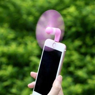 【瞎買天堂x買一送一】Remax 超迷你手機風扇 隨插即用 低耗電 輕巧好攜帶【CMRMFN01】